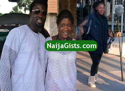 mercy johnson give birth usa
