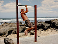 negative one arm chin-up