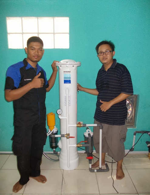 Filter Air di Petamburan Jakarta Barat