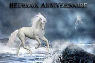 Carte anniversaire cheval - Carte Anniversaire - Idée d'anniversaire original