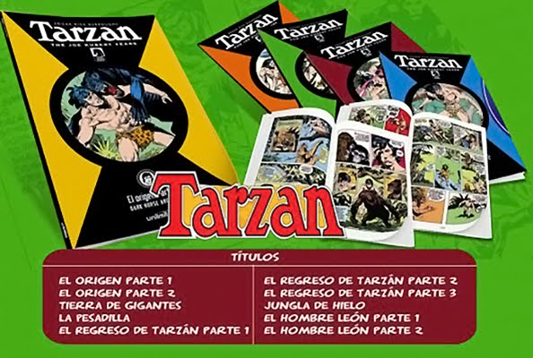 Nuevos enlaces: Tarzán The Joe Kubert Years [Colección completa]