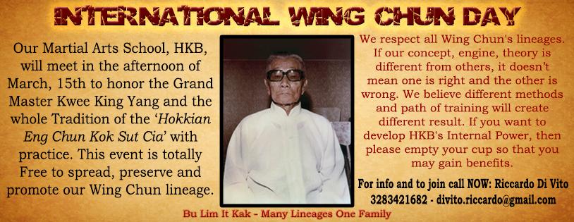 International Wing Chun Day