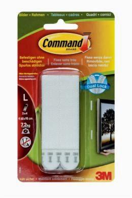 Strisce appendi-quadri bioadesive Command 3M
