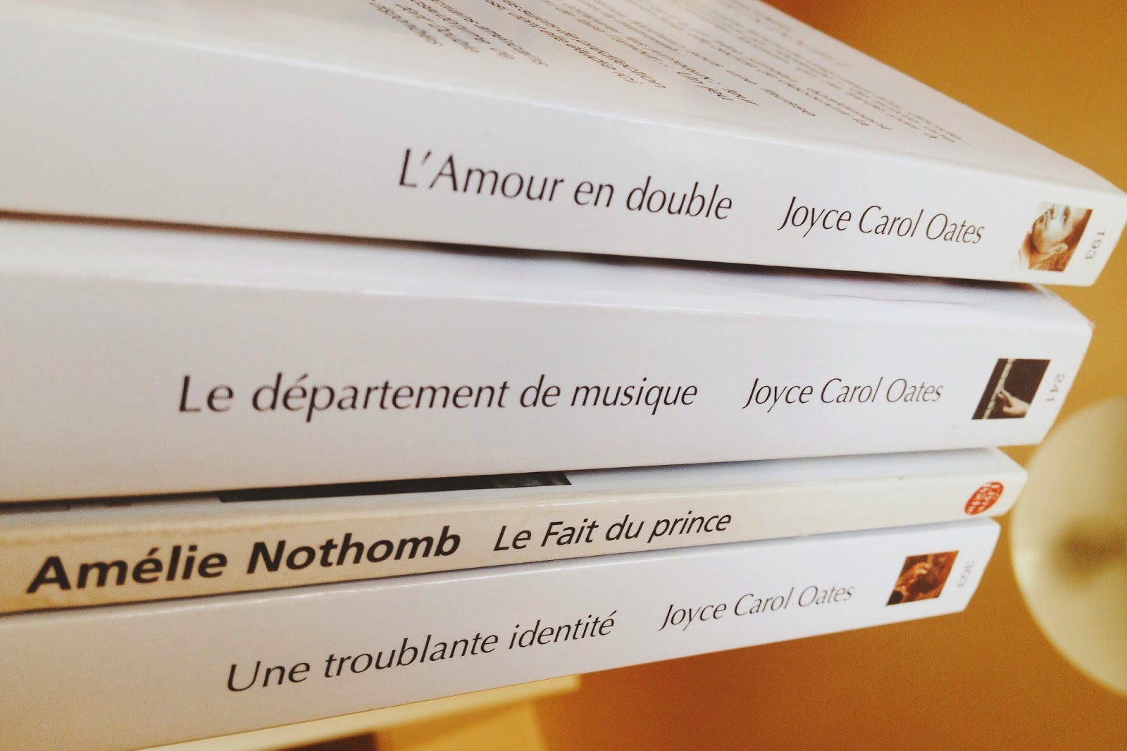 Joyce Carol Oates Amelie Nothomb
