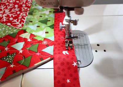 Binding Tutorial for Christmas Tree Skirt