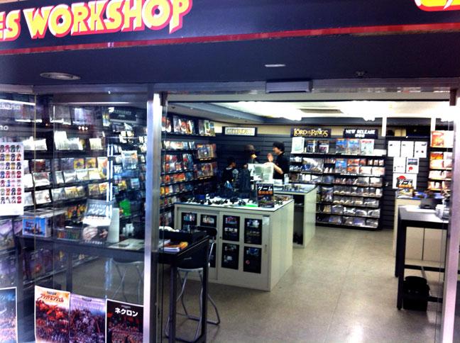 Games Workshop in Japan Pt.1 | Learning the hard way 40k