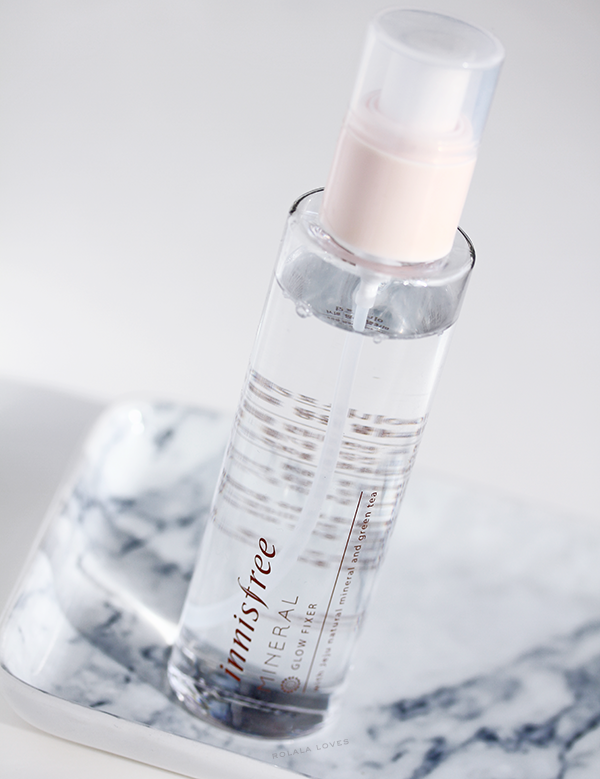 Innisfree Mineral Glow Fixer Review