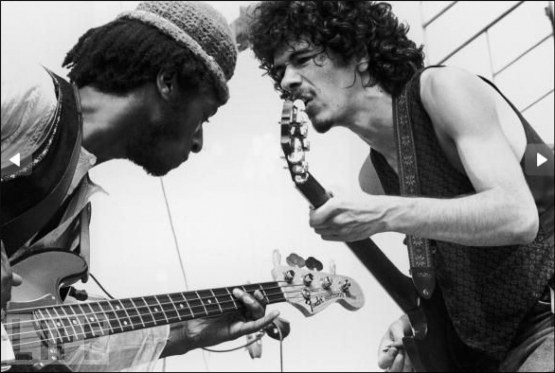 Carlos Santana David Brown Soul Sacrifice Woodstock 1969