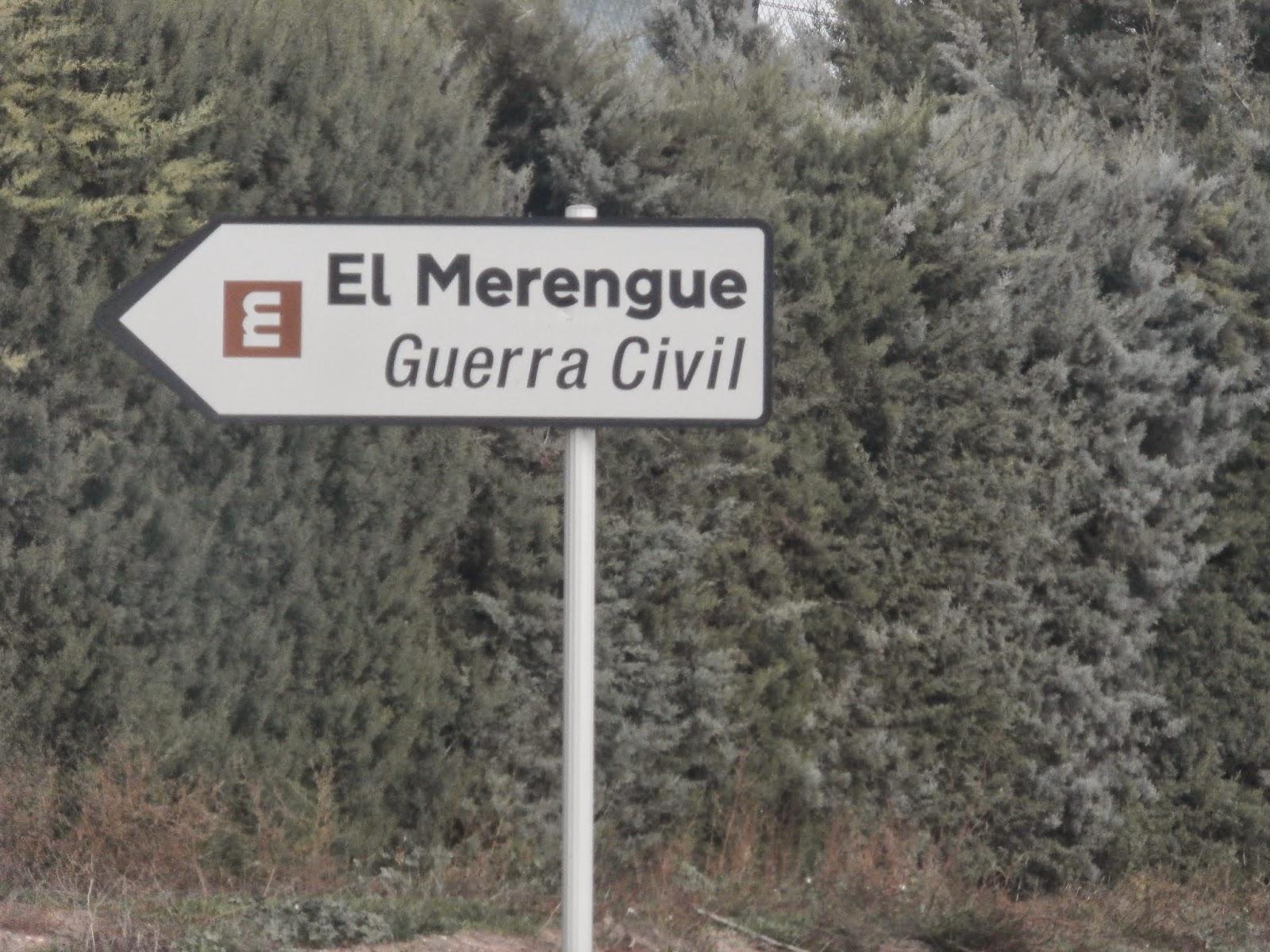 el merengue El merengue : el merengue és un puig que es troba a tocar de la carretera de balaguer a camarasa, on s'hi van produir intensos combats durant el front del segre la batalla d'el merengue va.