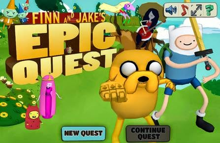 Download Finn and Jake's Epic Quest Full