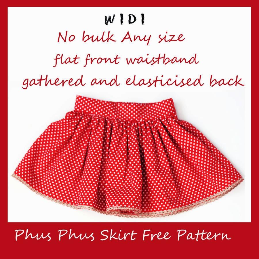 Phus phus skirt free pattern