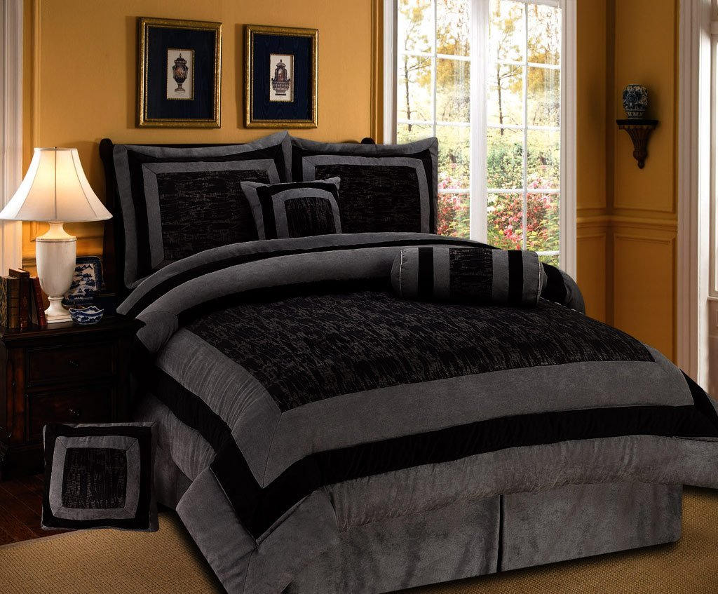 Bedding and bedding set Queen size bed and mattress set
