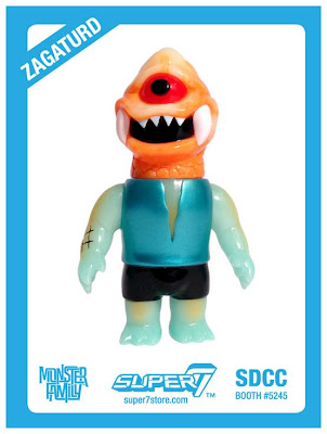 "San Diego Comic-Con 2013 Exclusive ""Super Misty Bros"" Zagaturd Vinyl Figure by Le Merde & Gargamel"