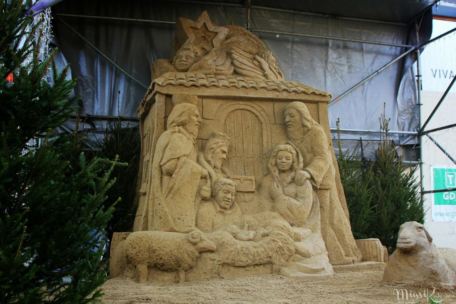 Szopka z piasku