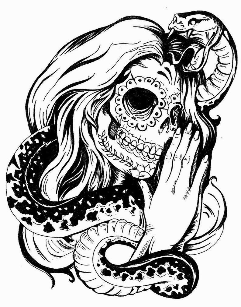 Tattoo Design Skull Motifleri Çok Konuşulacak 2014 - Muhteşem ...: dovmemodelresimleri.blogspot.com/2014/06/tattoo-design-skull...
