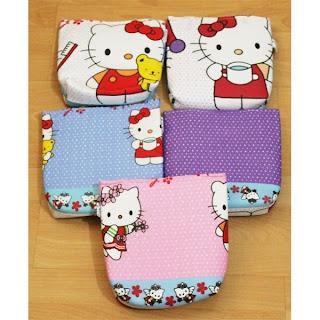 Mukena Anak Gambar Hello Kitty