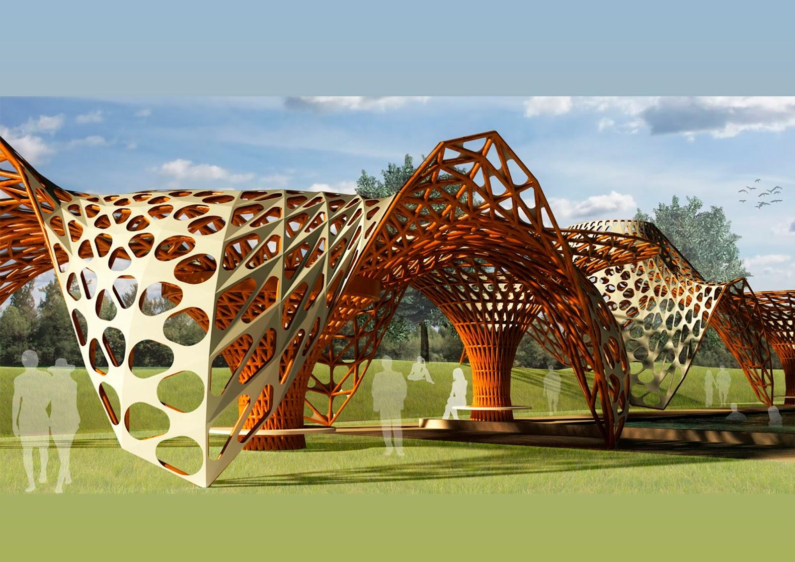 Ac ca arquitectura contempor nia contemporary for Arquitectura parametrica