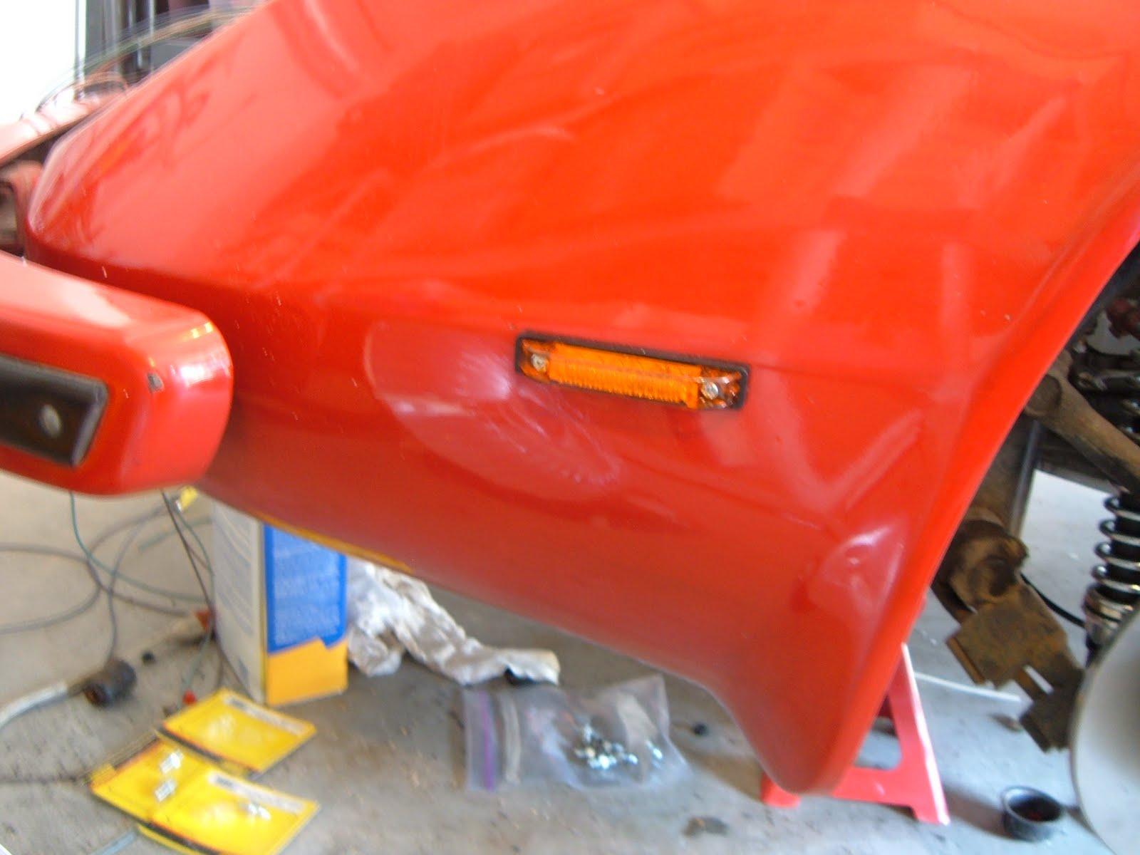 my big red bradley gt ii  led lights