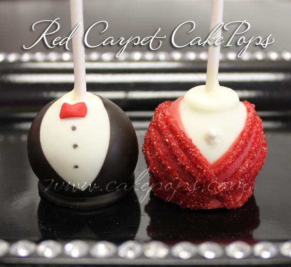 Red Carpet Cake Pops