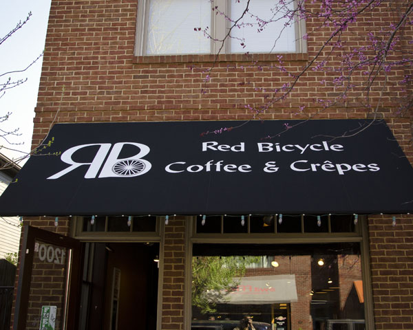 Red Bicycle Coffee and Crepes in Nashville Tennessee