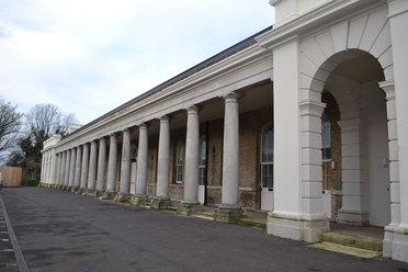 Restored Colonnade