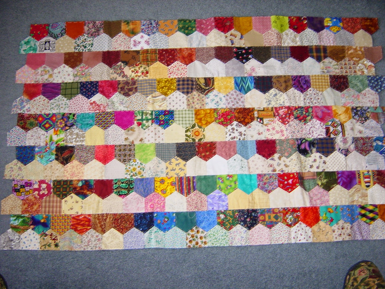 The Cheerful Chickadee Charm Quilts