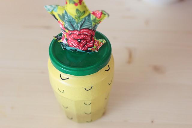 customiser pot ananas diy