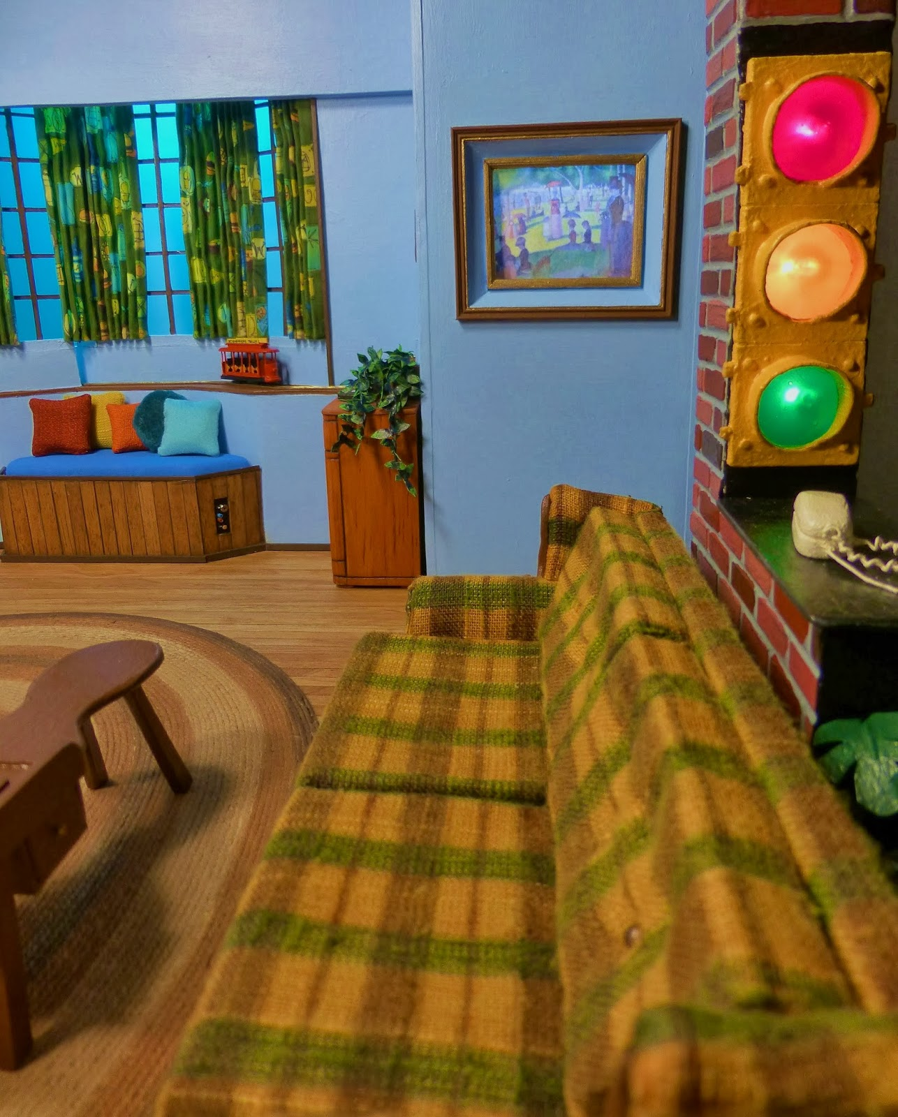 I Created This Model From Scratch, Including Furniture, Plants, Carpets,  Etc.