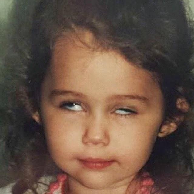Miley Cyrus de niña