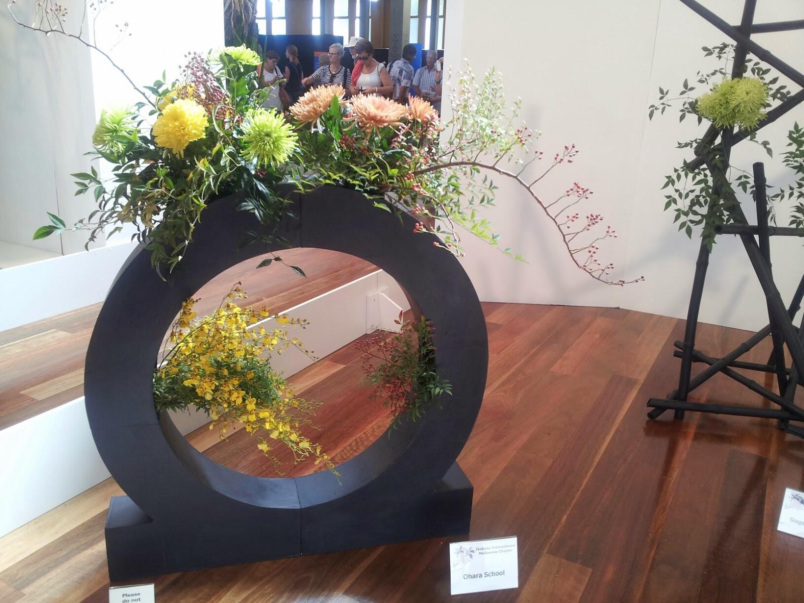 Ikebana Melbourne The 2014 Melbourne International Flower and Garden Show
