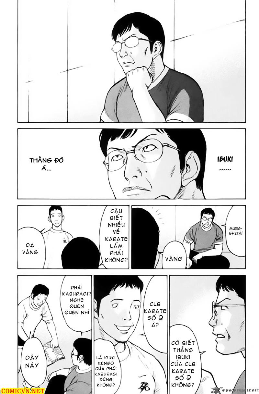 Karate Shoukoushi Kohinata Minoru chap 33 Trang 12