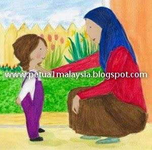 Petua Agar Anak Ikut Cakap Ibubapa