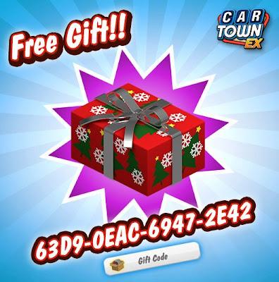 Car Town: Car Town EX Free Gift Caja de Navidad
