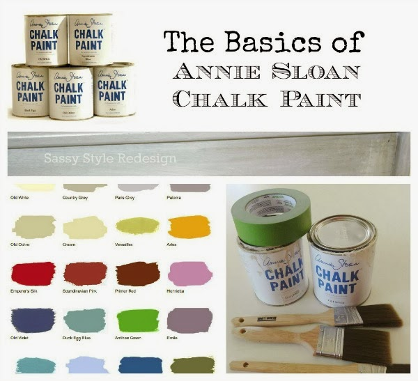 The basics of Annie Sloan Chalk Paint