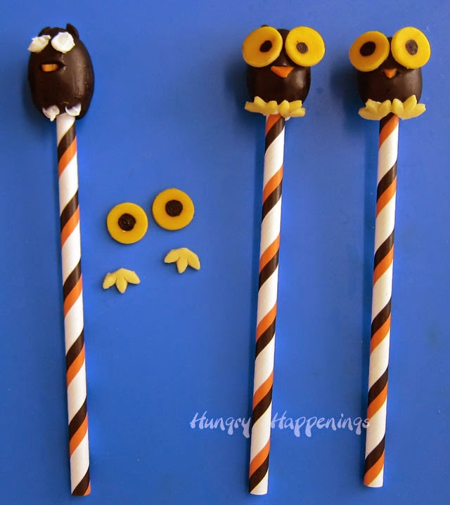how to make black olive owls | hungryhappenings.com