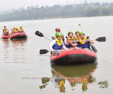 Paket Rafting di Situ Cileunca Pangalengan
