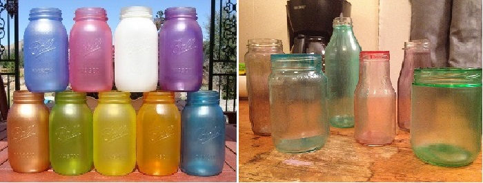 barefoot crafting make something monday diy sea glass bottles