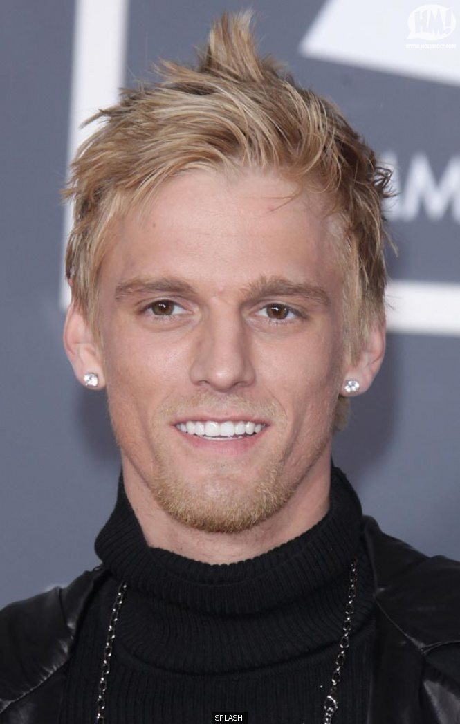 Aaron Carter Hairstyles