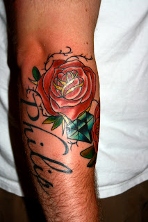 rose and vines-tattoos