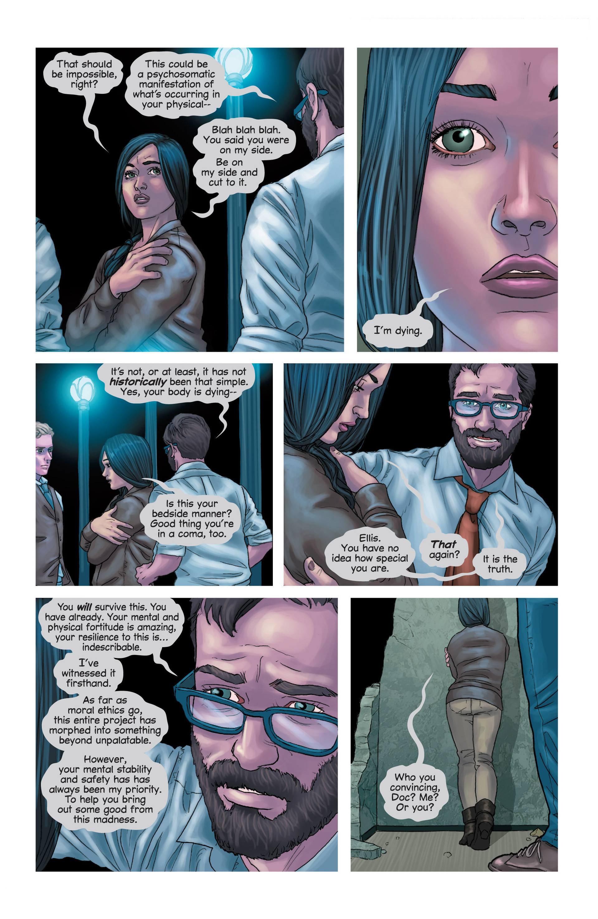 Read online Mind The Gap comic -  Issue #14 - 6