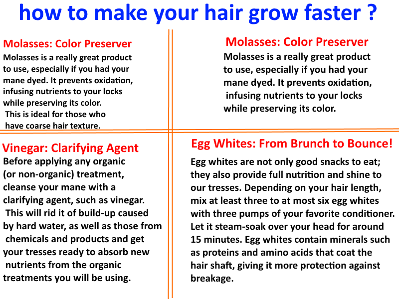 5 Tips On How To Grow Long Hair Fast ...
