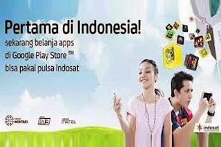 Indosat dan Google Play Hadirkan Carrier Billing