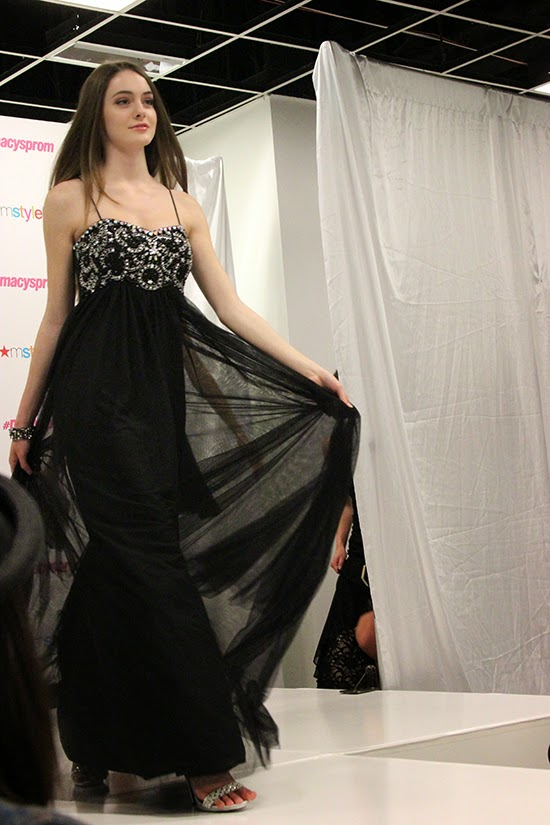 Black Tulle Empire Prom Dress 2015 Trend