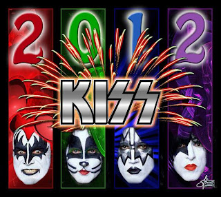 2012 masks new year kiss wallpaper