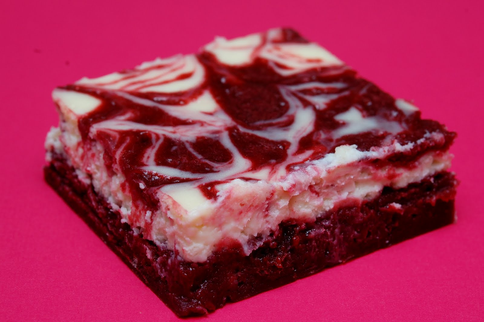 Red Velvet Brownies with Cheesecake Swirl: Day 20 of The 100-Day ...