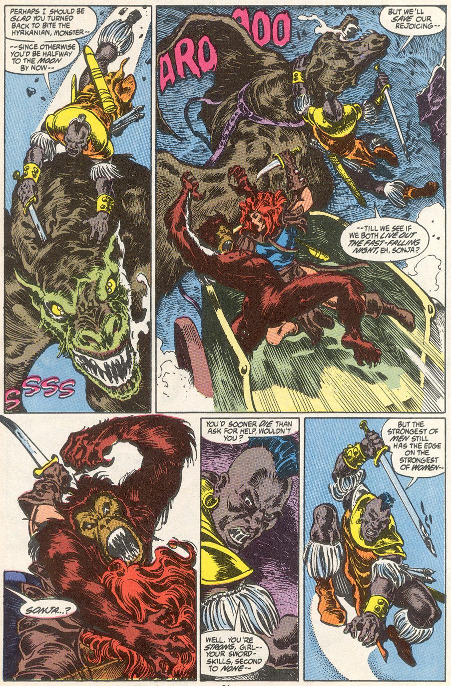 Conan the Barbarian (1970) Issue #249 #261 - English 19