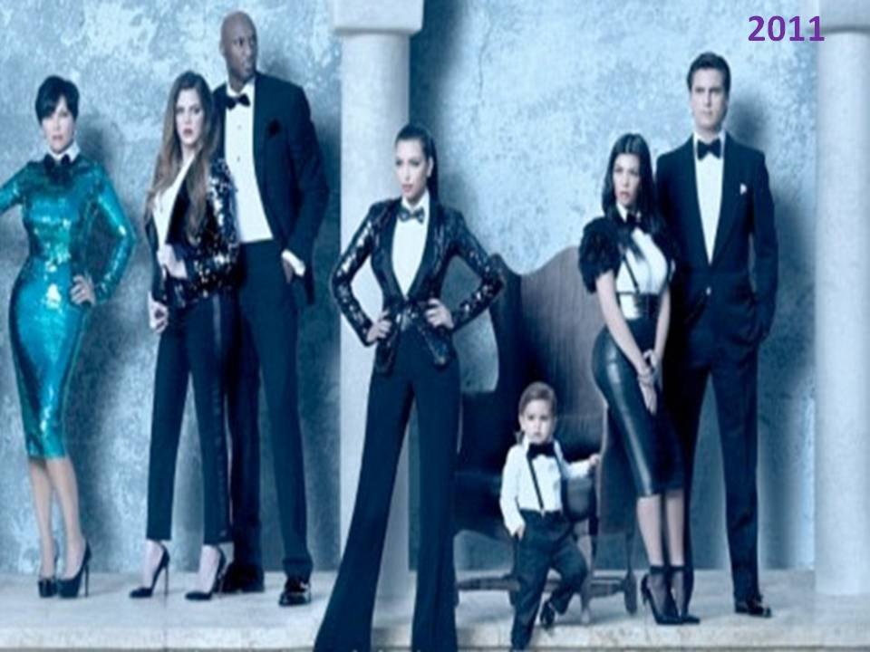 Depression-Day: Kardashian Christmas Card 2011 Lifestyle
