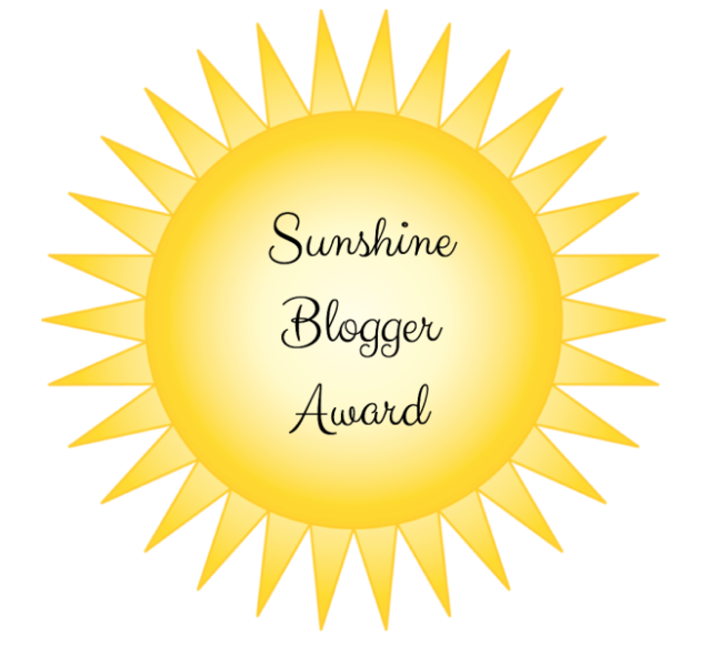 Sunshine Blogger Award (twice!), 2016