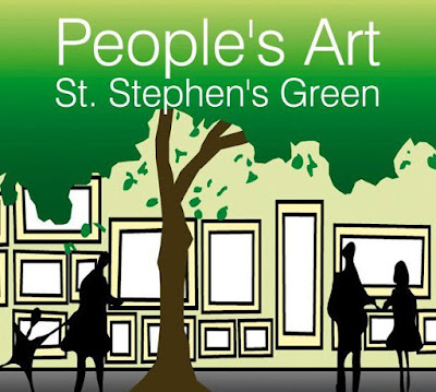 Logo People's Art St. Stephen Green Exhibition. Elizabeth Casua blog tHE 33ZTH oRDER