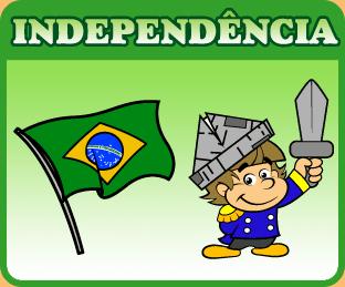 Dia da Independência, atividades, exercícios